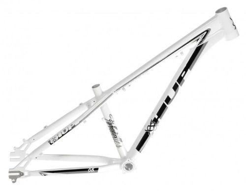 Quadro Para Bicicleta Downhill Hupi Whistler 2019 Raw Horizontal Branco
