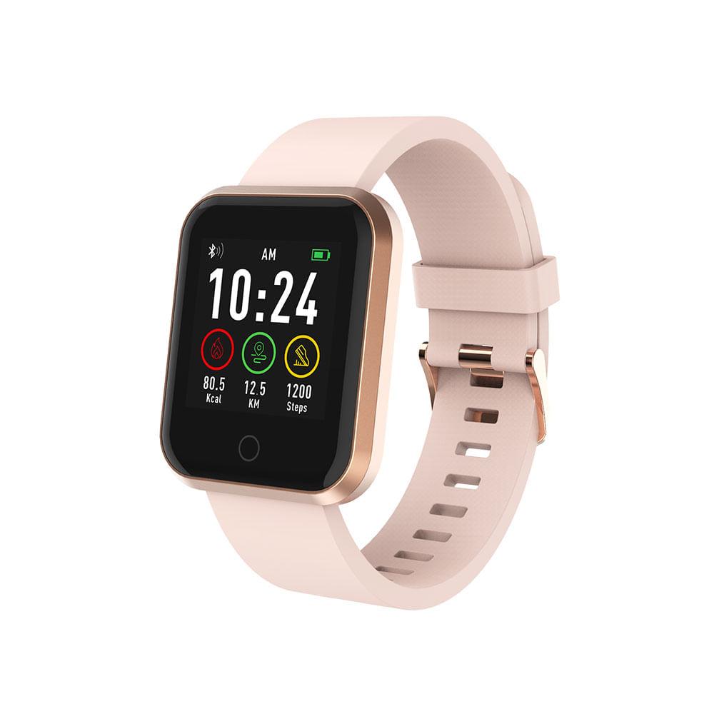 Relógio Smartwatch Roma Atrio Android e Ios Rosé