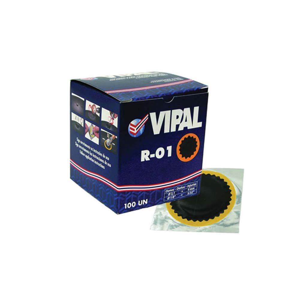 Remendo para Câmara de ar a Frio 100 unidades Vipal R01