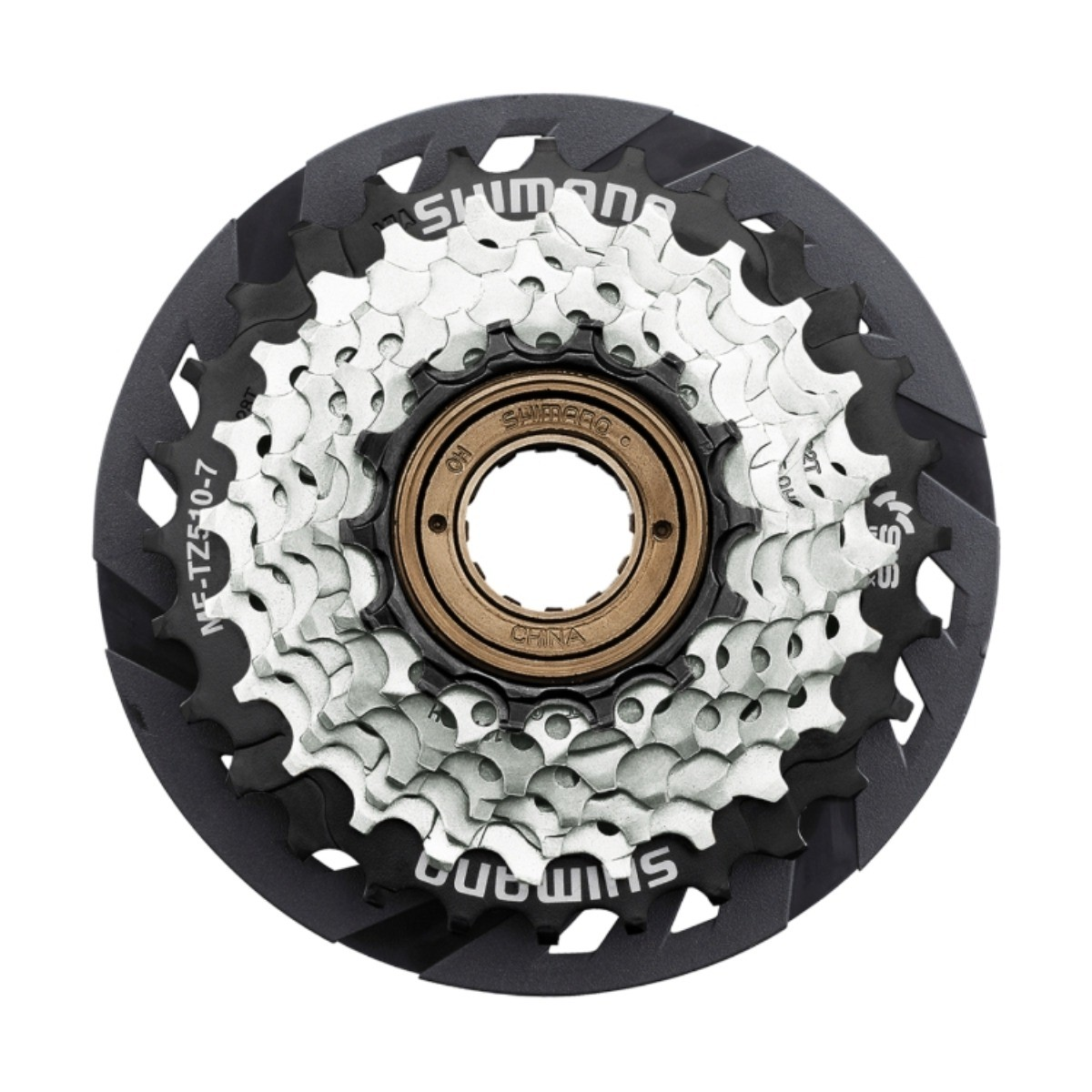 Roda Livre Bicicleta Tourney Mf-tz510 14/28 Dentes Shimano