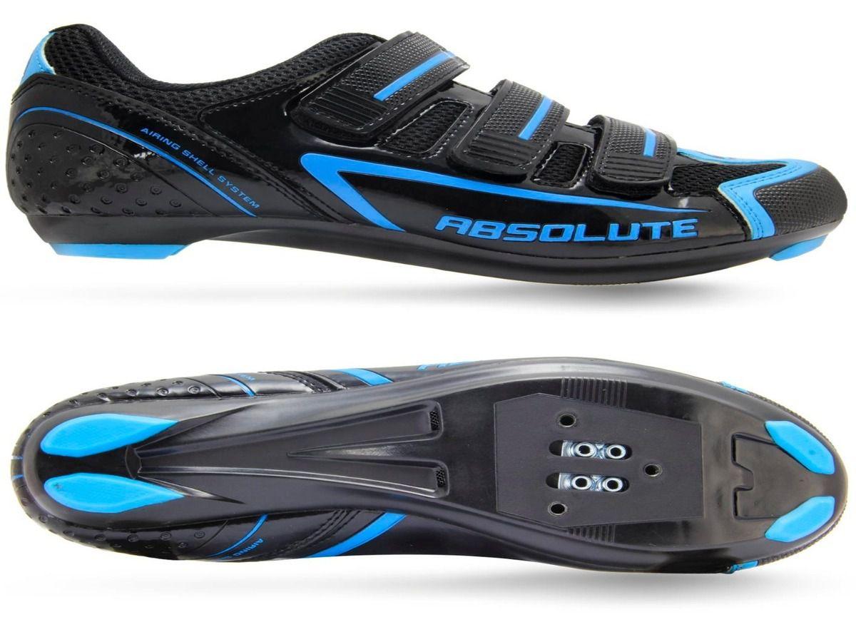 Sapatilha Absolute Nero Speed Ciclismo Preto/azul