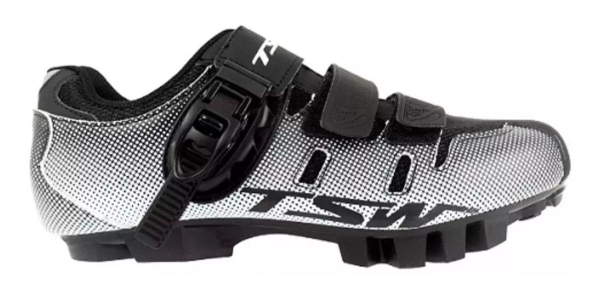 Sapatilha de Ciclismo Tsw New Cave + Pedal Clip PD-M505