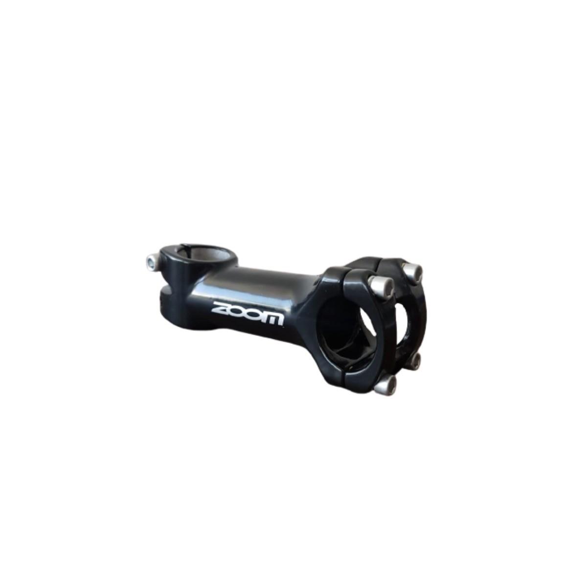 Suporte Guidão Ahead Ad286 Zoom Aluminio Preto 31,8x110mm