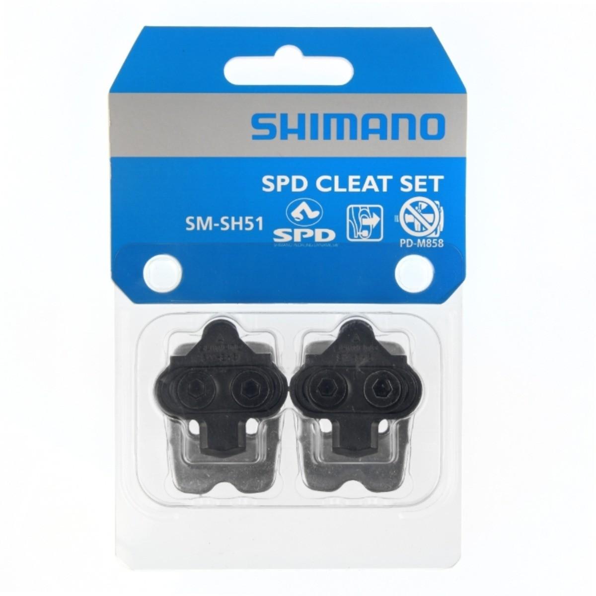 Taquinho Pedal Ciclismo Mtb Shimano Sm-sh51 Com Porca De Taco