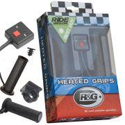 Aquecedor de Manoplas Heated Grips Hot  Aquecidas Moto R&G