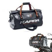 Mala Bolsa para Moto Bag Impermeável Kappa Moto 50 litros