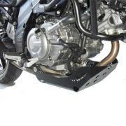 Protetor de Cárter V Strom 650 XT ABS 2007 2018 Peito de Aço S047P