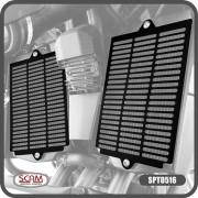 Protetor Grade Colmeia Frontal de Radiador de Metal P/ Tiger 900 GT / GT PRO / RALLY / RALLY PRO Scam SPTO516