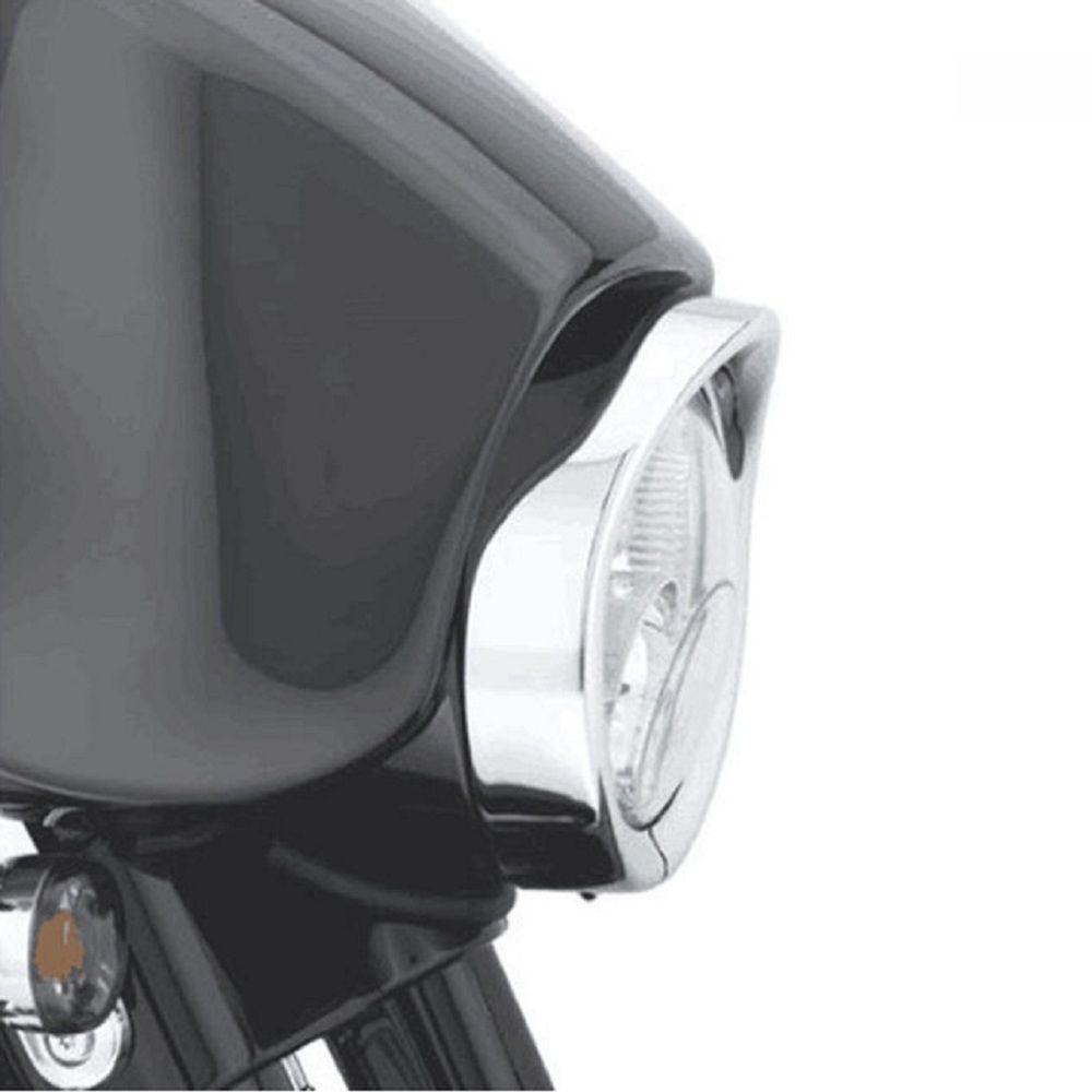 Acessório P Harley Aro Alongador Farol C Touring Electra Sof