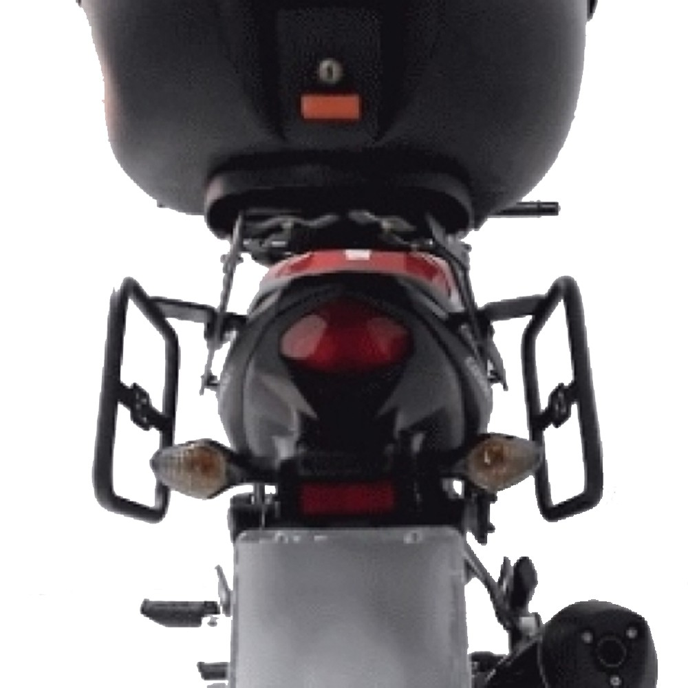 Afastador de Alforges Alforjes Proteção Traseira P/ CB 500 X CB500X Chapam 2013 em diante