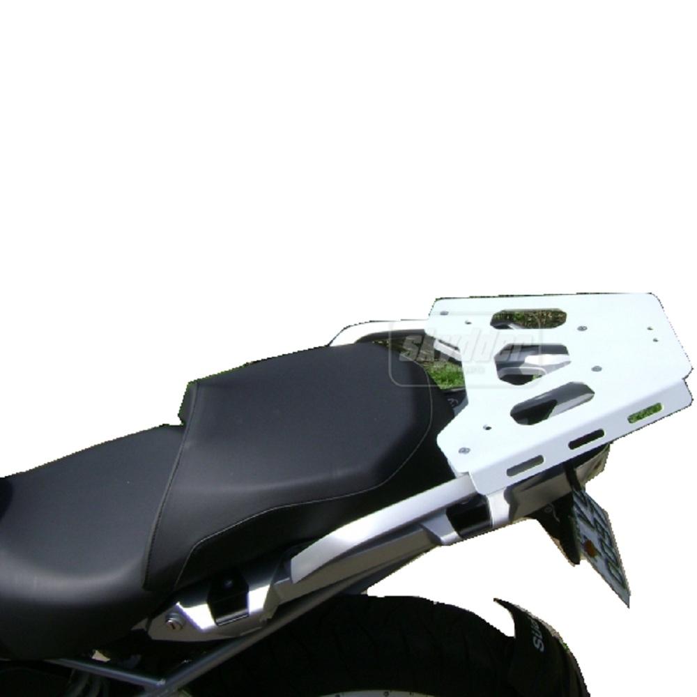 Bagageiro Monokey Chapa em Alumínio P/ Báu Traseiro Givi P/ BMW R1200GS R1250GS Sport / Premium / Exclusive Marca Skydder