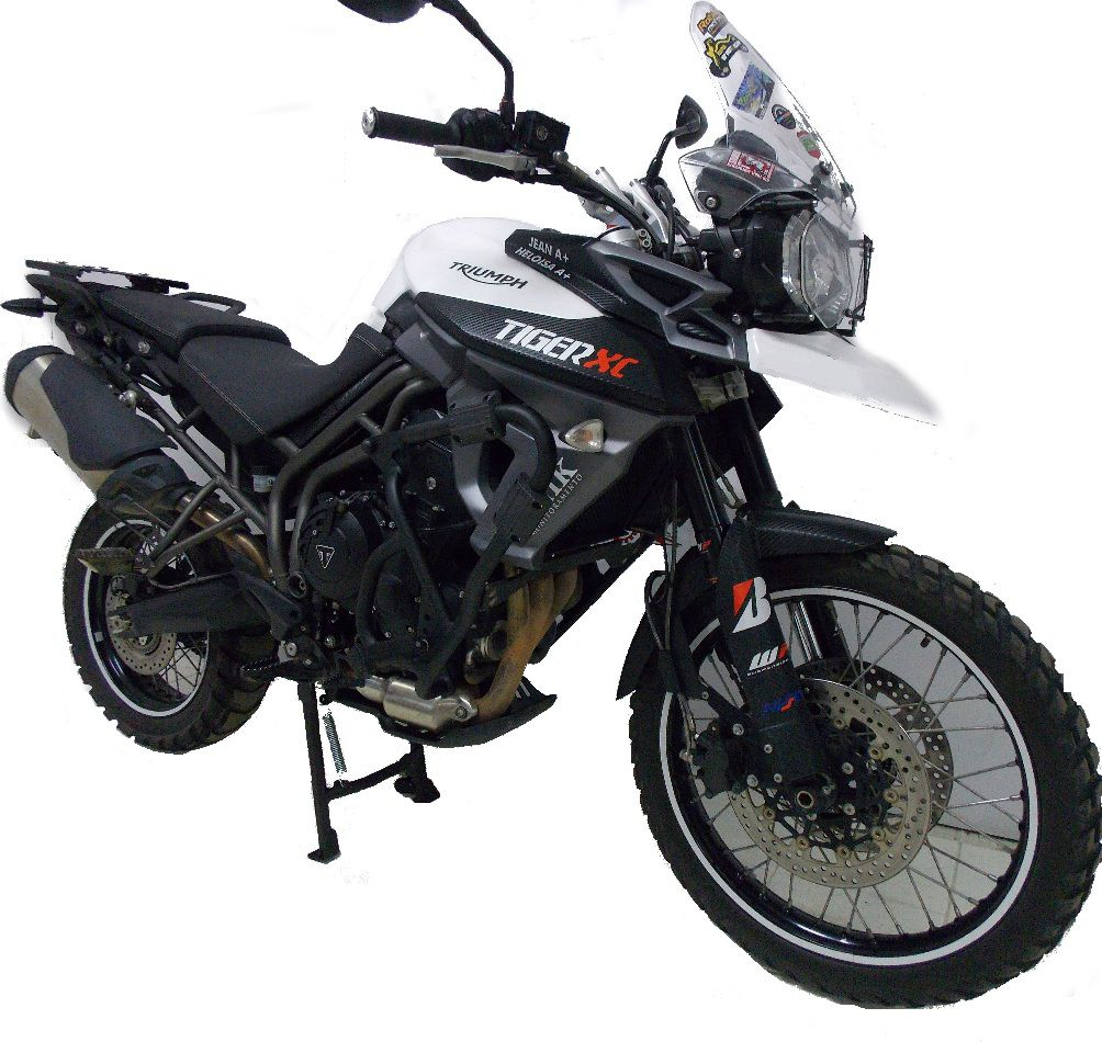 Cavalete Central Tiger 800 Xc Xcx Xca Descanso Chapam 8298