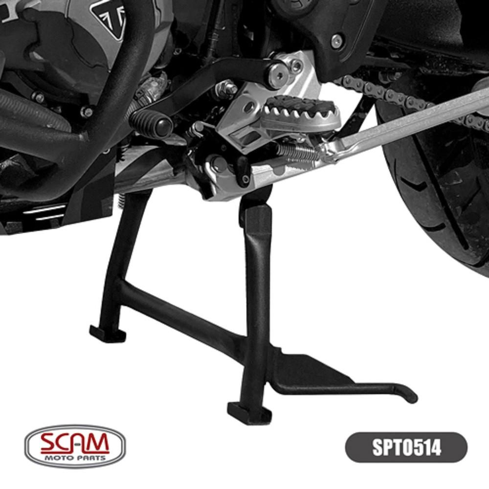 Cavalete Descanso Central Para Tiger 900 GT e GT PRO (Modelo c/ Rodas de Liga Leve) Scam SPTO514