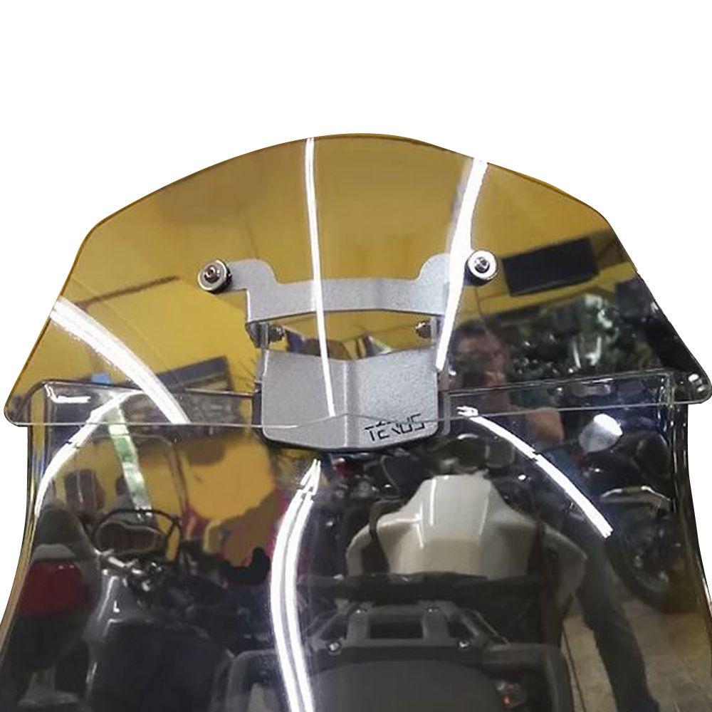 Defletor Ar Vento Extensor Bolha Drakar Térus TX1200 Tiger 1200 2016+