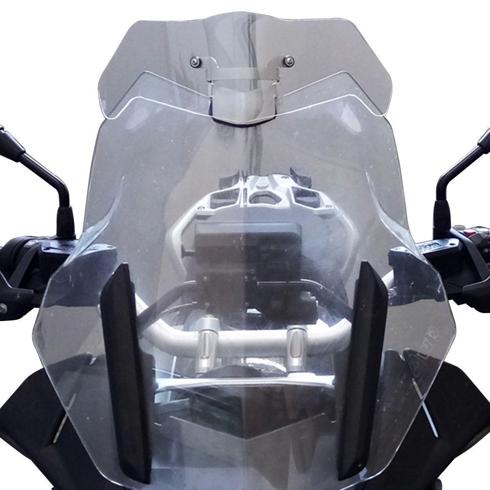 Defletor Ar Vento Extensor Bolha Drakar Térus BMW R1200GS 2013+ R1250GS 2020+