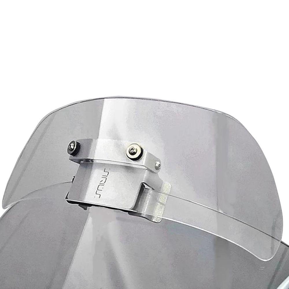 Defletor de Ar Vento Extensor de Bolha Drakar Rota Especial Universal