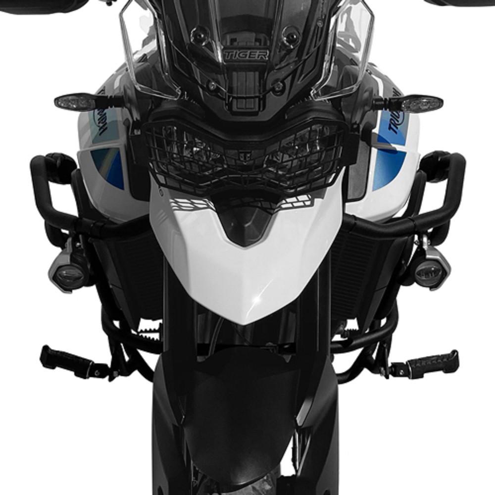 Ferros Envolvente Protetor de Motor e Carenagem Com Pedaleiras P/ Tiger 900 2020+ Scam Sptop511