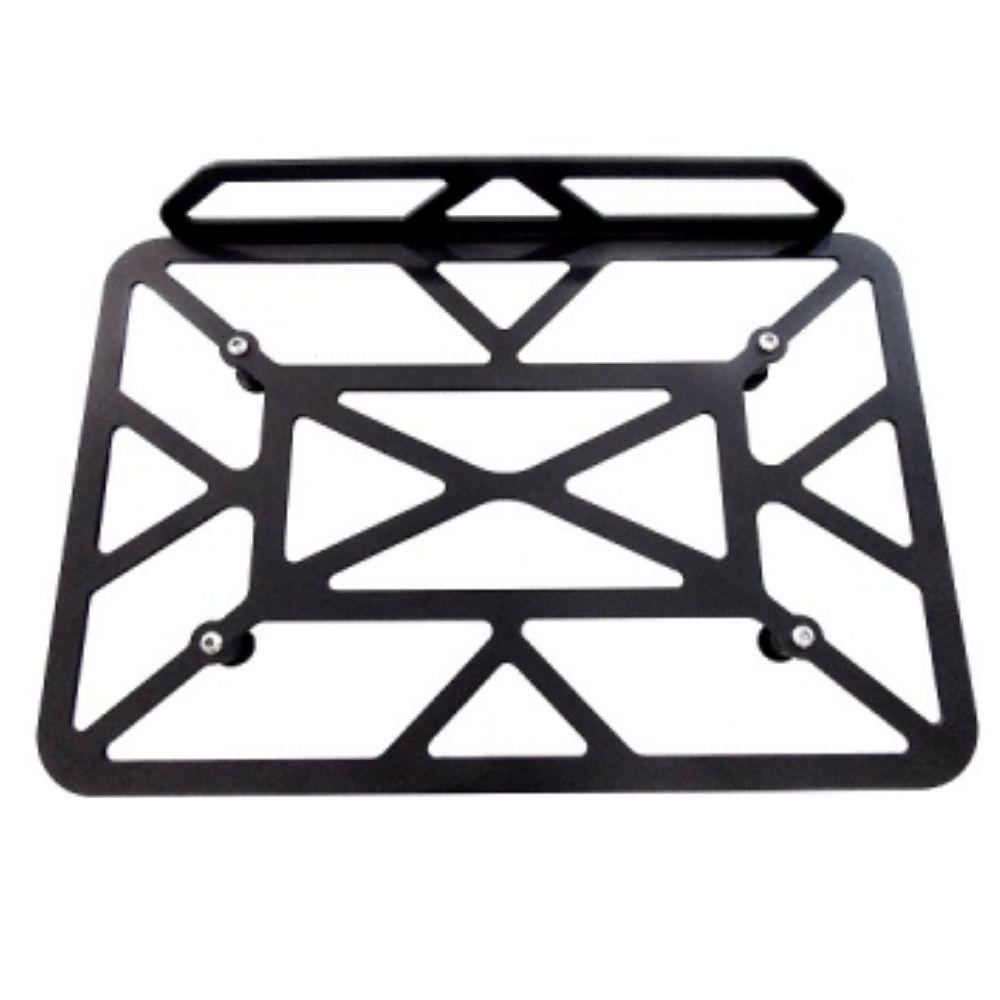 Grelha Bau Aluminio Churrasqueira Grade Para Bauleto Quadrado Chapa Chapam 10621