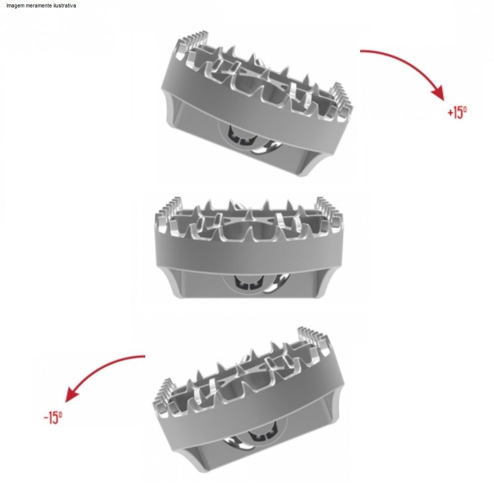 Pedaleiras Articuladas Bmw R 1250 1200 GS F 850 800 750 700 650 Anker