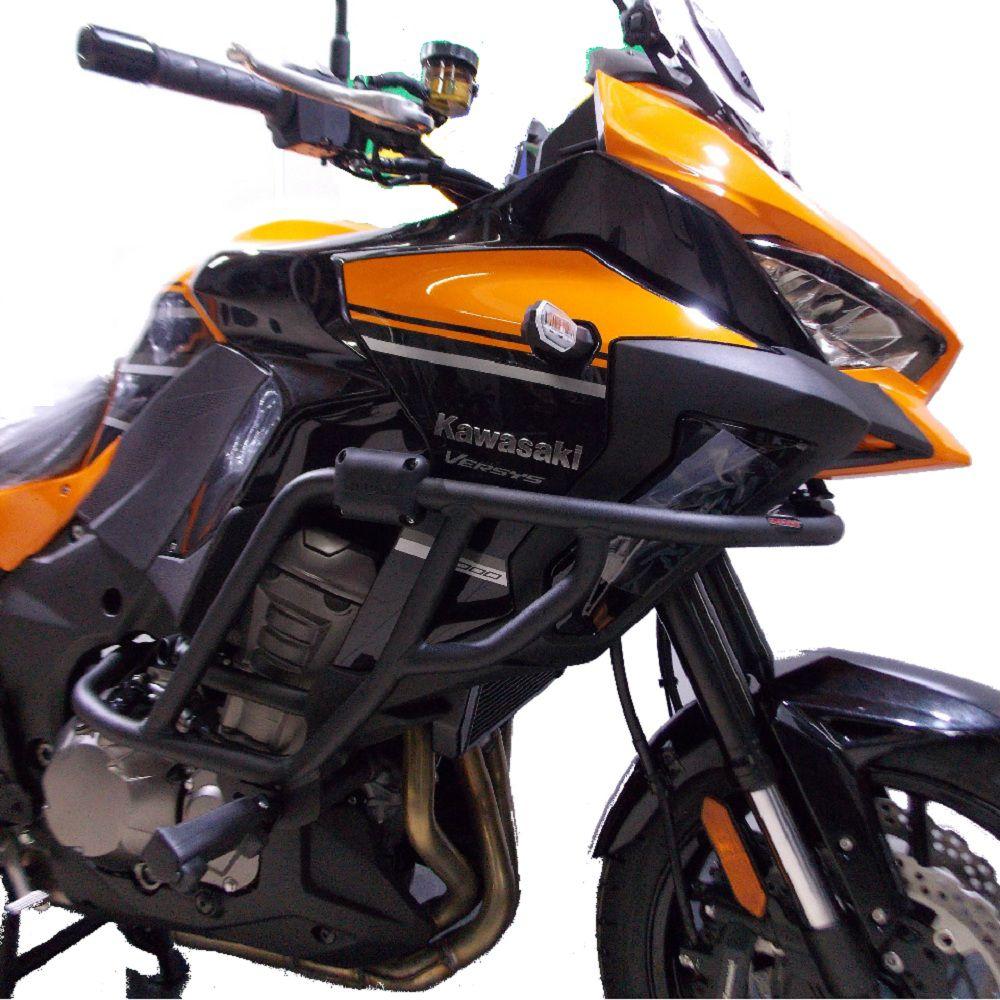 Protetor Carenagem Motor C/ Pedaleiras Versys 1000 2020+ Chapam 11819