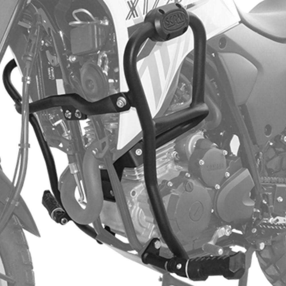 Protetor Carenagem Motor Com Pedaleiras Nova Lander 250 2020 Abs Scam SPTOP440