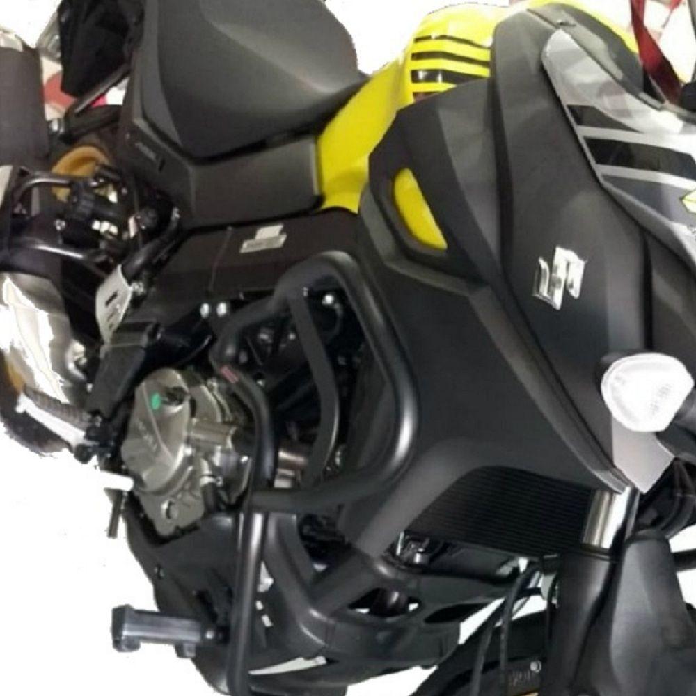 Protetor Ferros da Carenagem e Motor Com Pedaleiras Para Vstrom DL 650 2019 2020 Chapam 11190