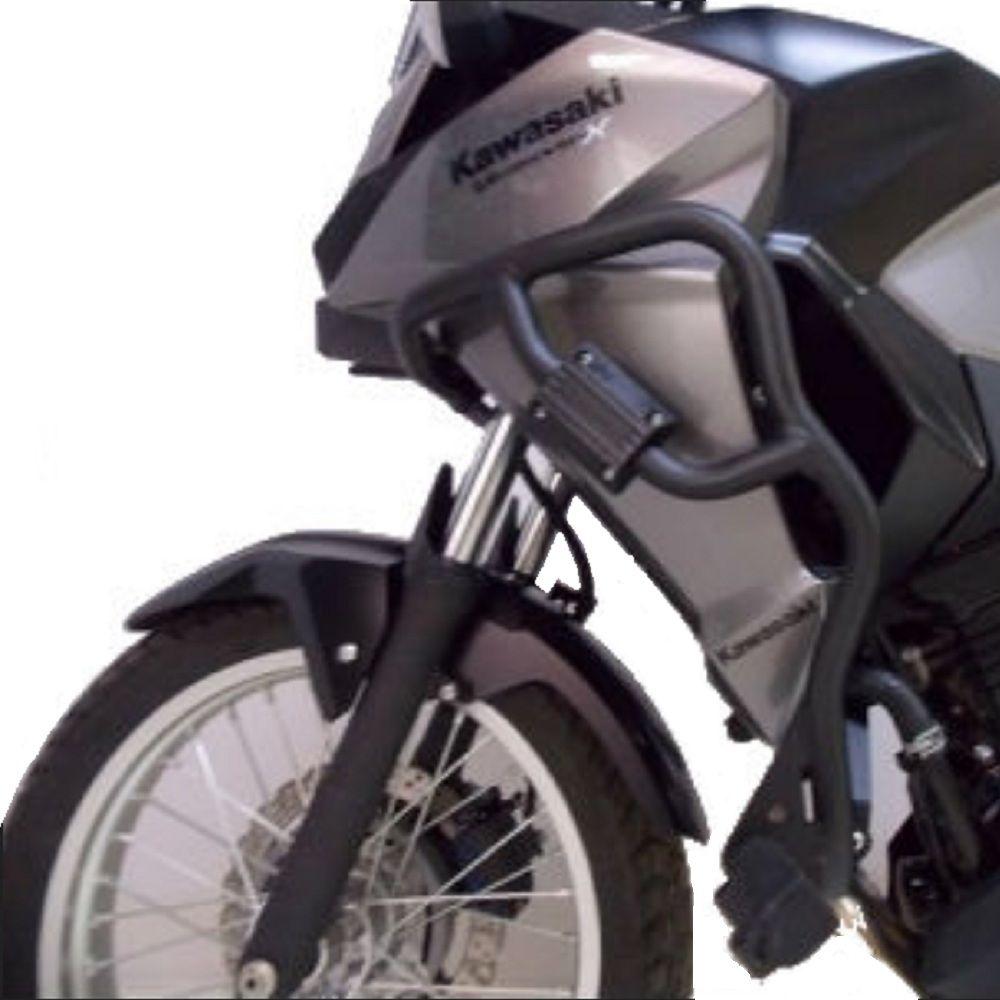 Protetor Carenagem Motor Versys X 300 Chapam Com Pedaleira 10820