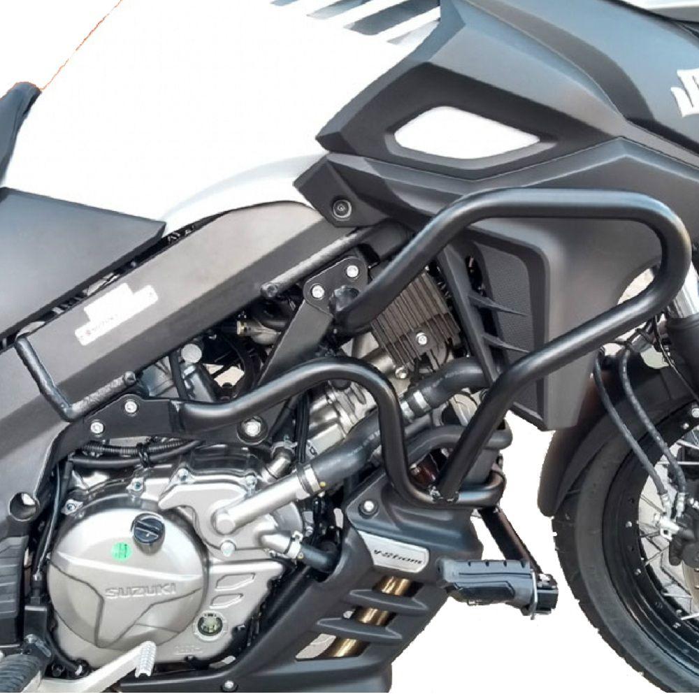 Protetor Carenagem Motor V Strom 650 2014 2019 Pedaleira S305