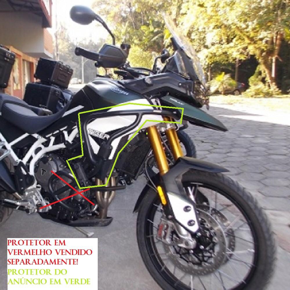 Protetor de Carenagem com Pedaleiras p/ Tiger 900 GT / GT PRO / Rally / Rally PRO Chapam 12346