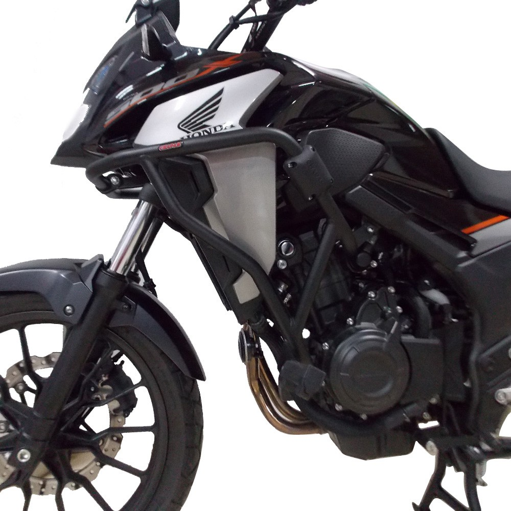 Protetor De Carenagem e Motor Com Pedaleiras P/ CB 500 X 2020 2021+ Chapam 12257