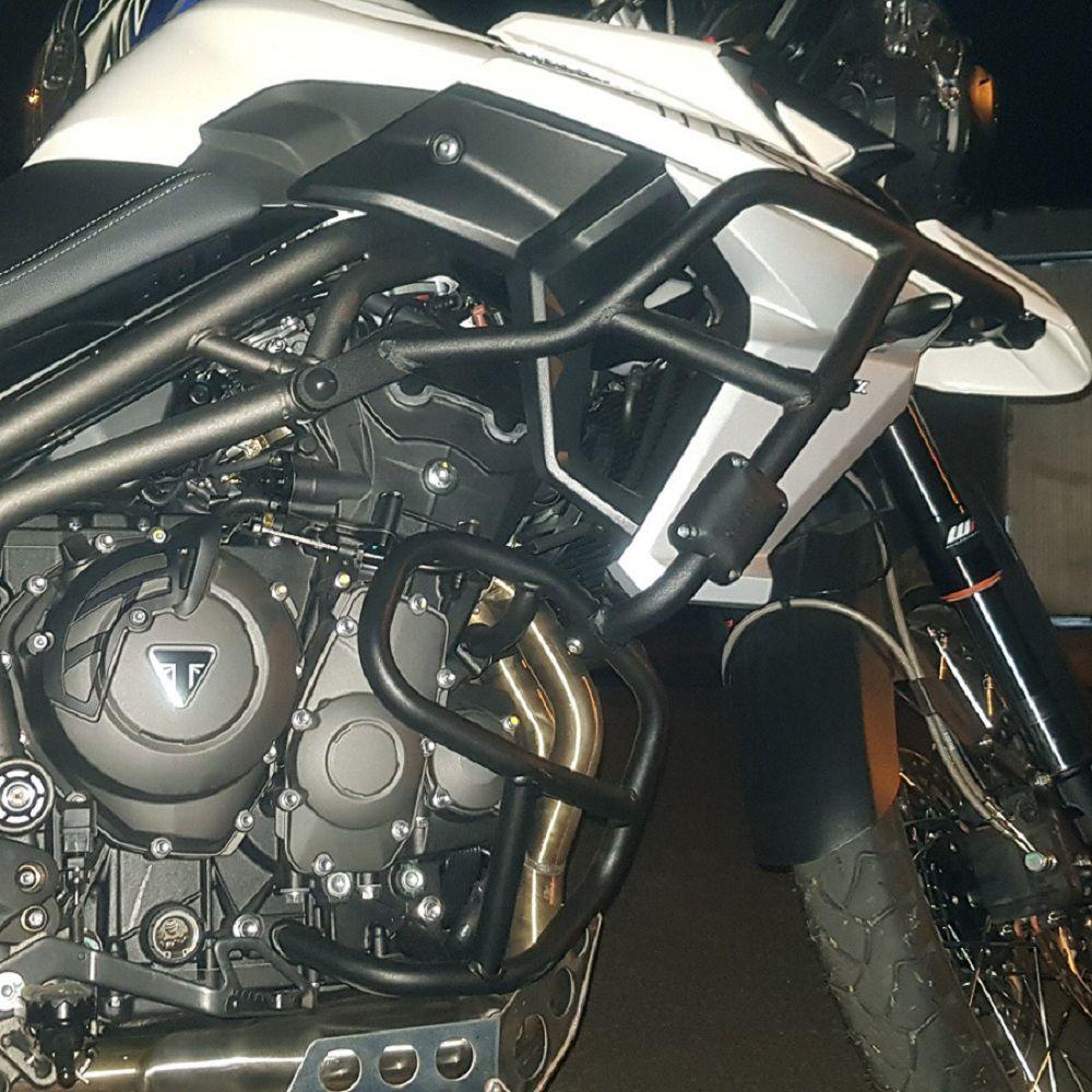 Protetor de Carenagem Motor Tiger 800 XCX XCA 2017 a 2020 Chapam Código 10401