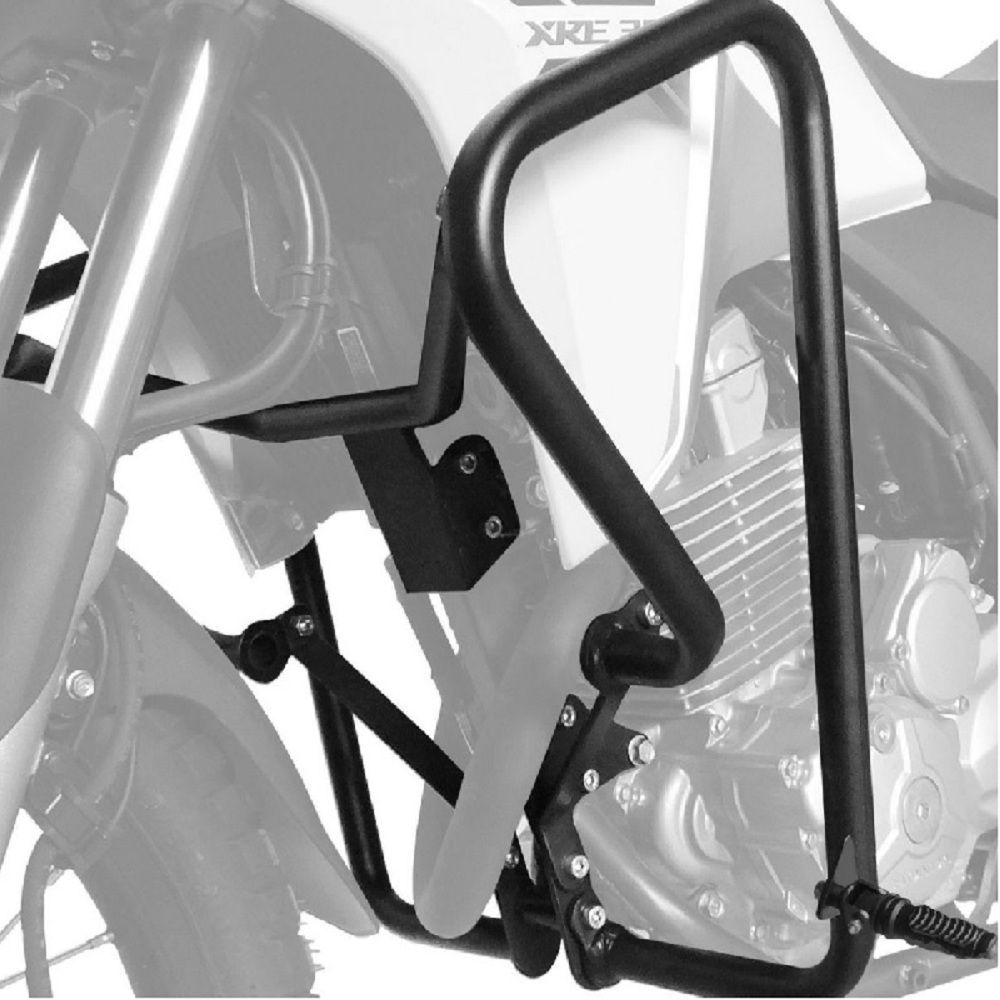 Protetor De Carenagem Motor Xre 300 T Anos C Pedaleira Scam