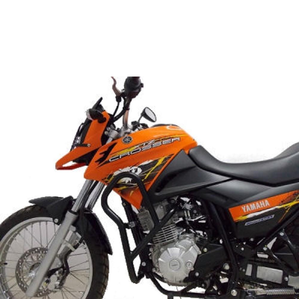 Protetor Ferros De Carenagem Motor Xtz 150 Crosser Com Pedaleiras Chapam 859