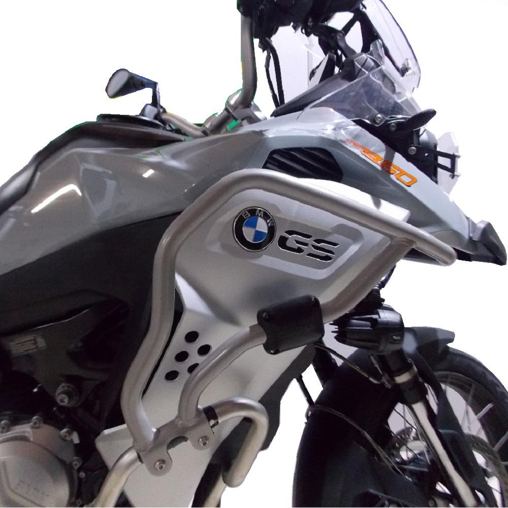 Protetor de Carenagem Superior Prata p/ BMW F 850 GS Adventure Chapam 12545