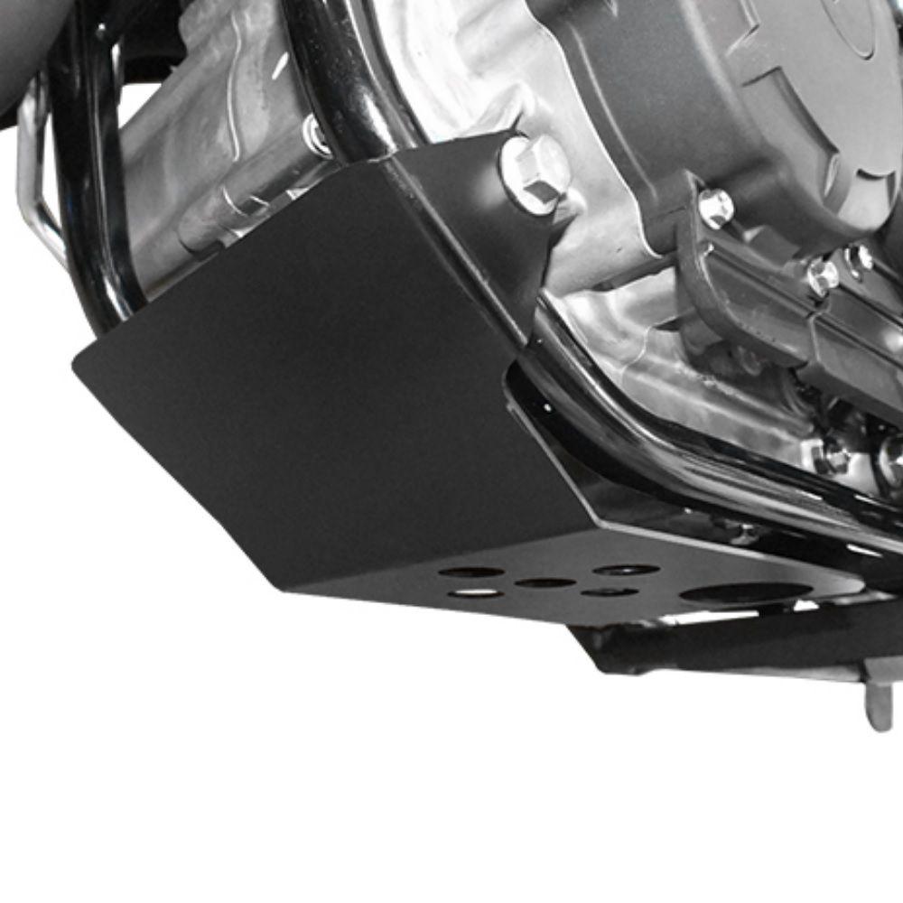 Protetor de Carter Motor Peito Aço Nova Lander ABS 2020 Scam SPTO444