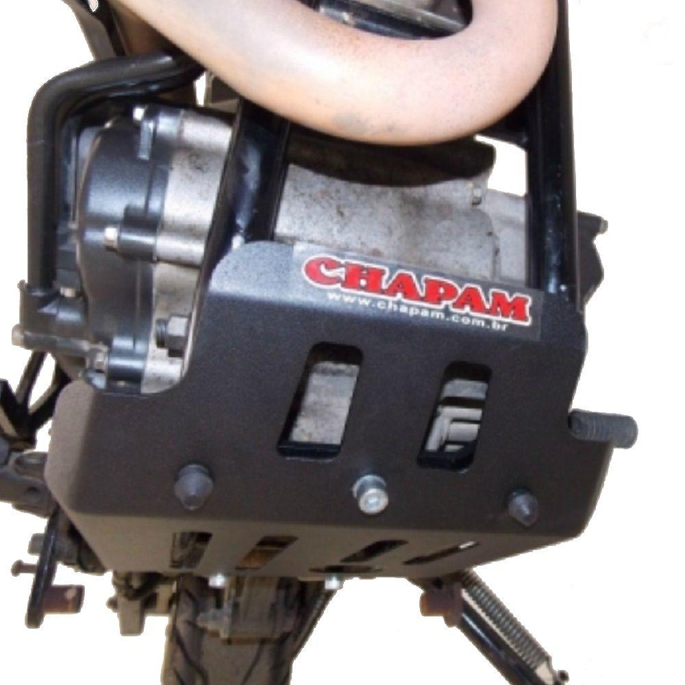 Protetor de Carter Motor Tenere 250 Nova Lander ABS 2019 Chapam 9354