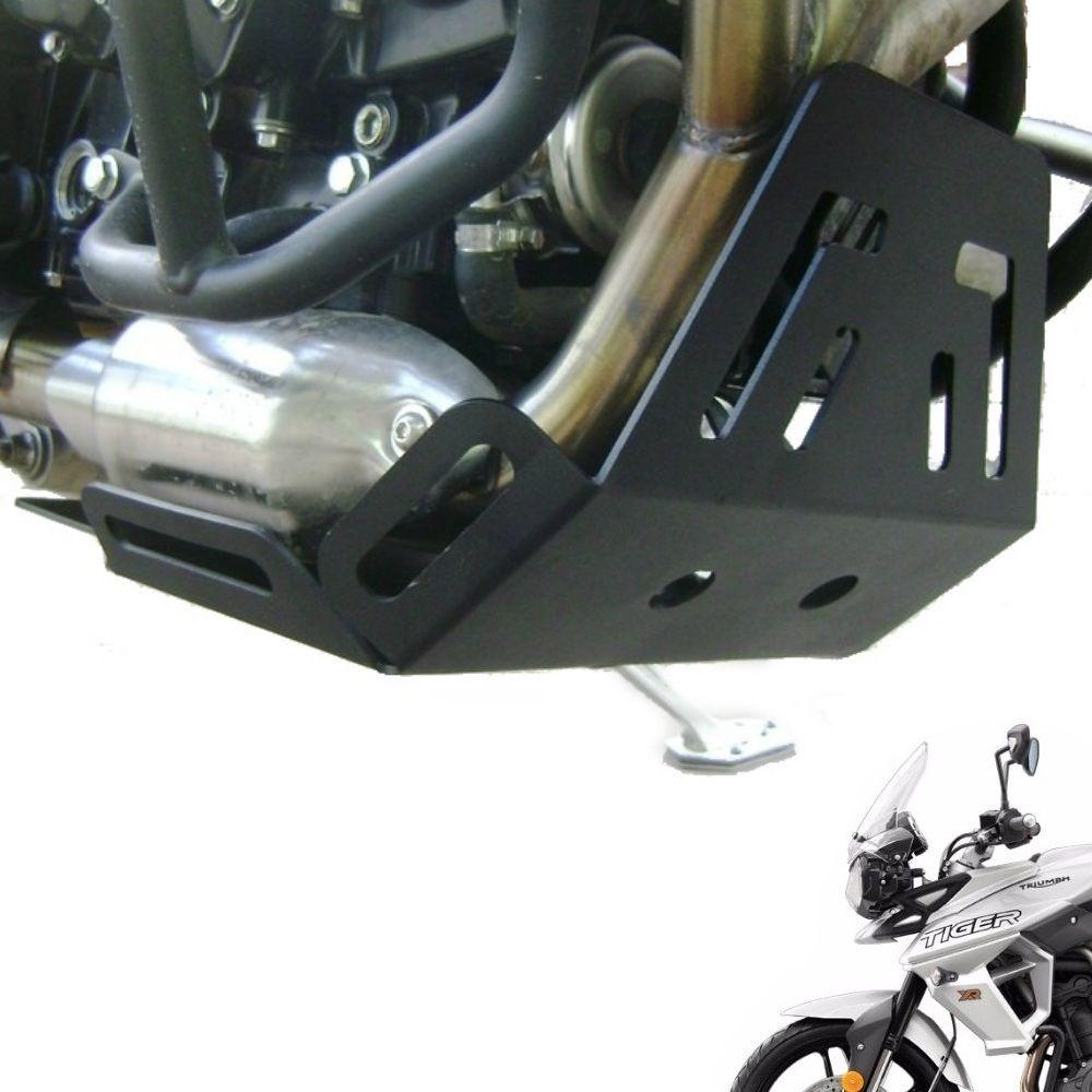 Protetor de Cárter Motor Tiger 800 XR XRX XRT XC XCX XCA Todos os Anos