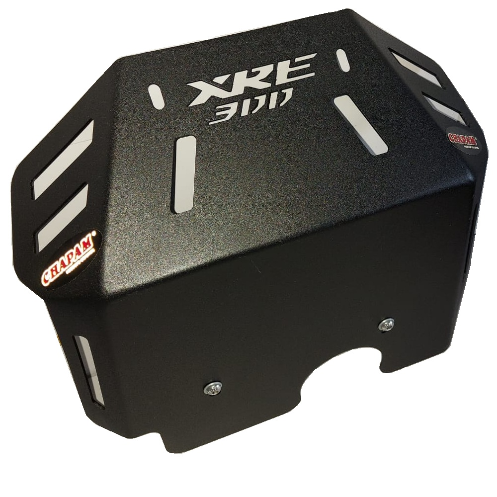 Protetor de Cárter Peito de Aço Motor P/ XRE 300 2009 a 2022 Chapam 10113