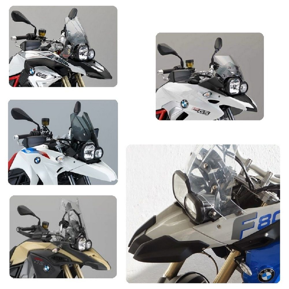 Protetor De Farol Acrílico Bmw F Gs 650 700 800 Adventure s141A Start Racing