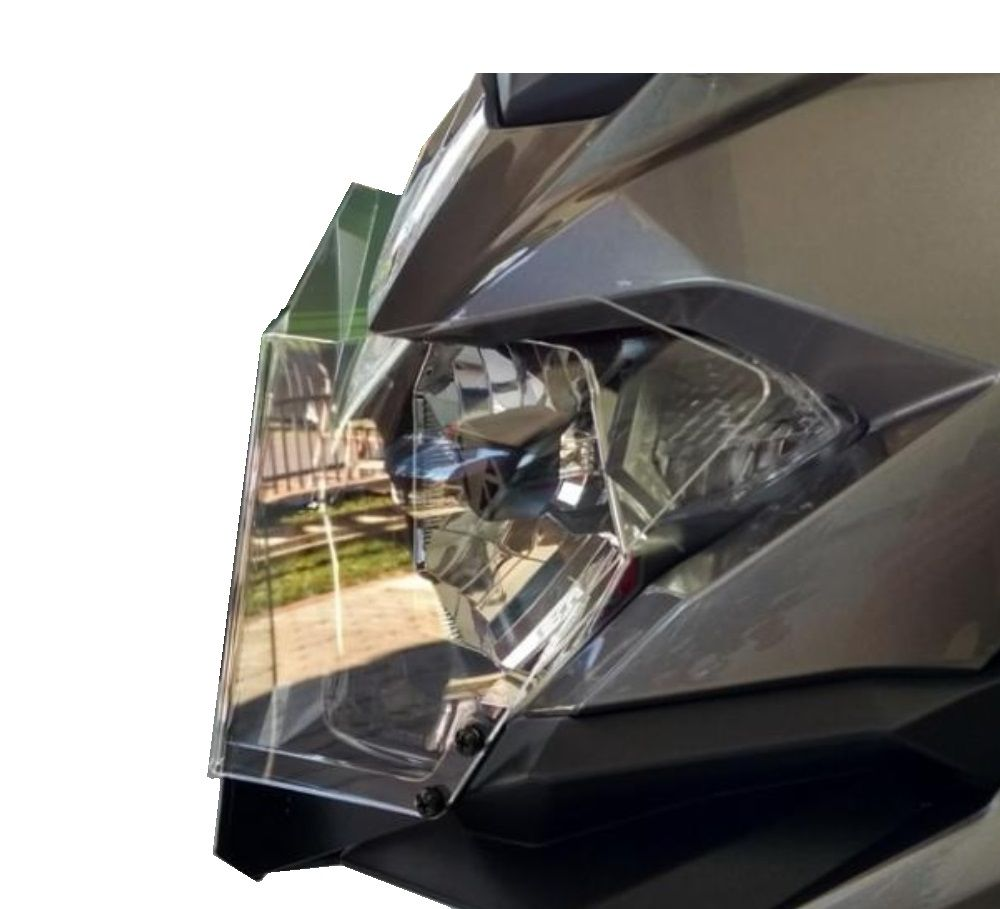 Protetor De Farol Acrílico Kawasaki Versys X 300 Normal S285
