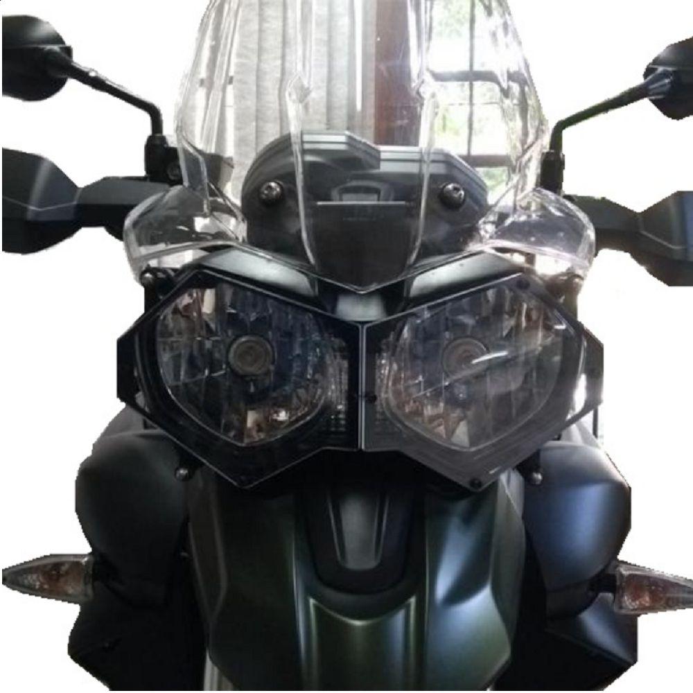 Protetor De Farol Acrílico Tiger 800 1200 Xc Xr Xcx Xrx Xca s261a