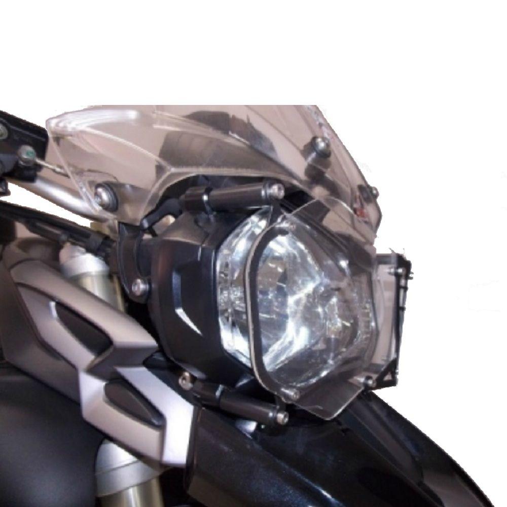 Protetor De Farol Acrílico Tiger 800 1200 Xrx Xr Xc Chapam 9815