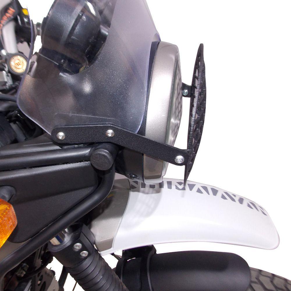Protetor De Farol Grade Metal P/ Royal Enfield Himalayan 400 Chapam 12105