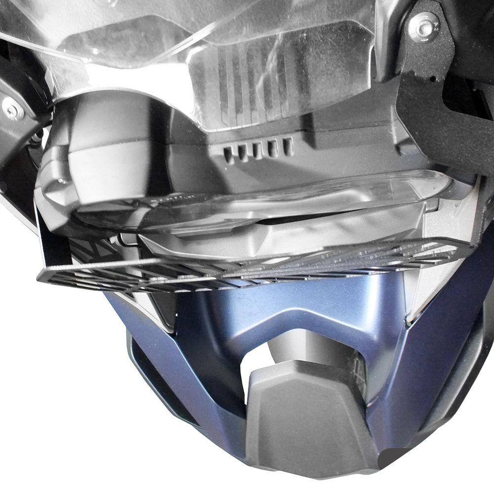 Protetor De Farol Metal Bmw R 1200 1250 Gs 2013+ Scam Spto285
