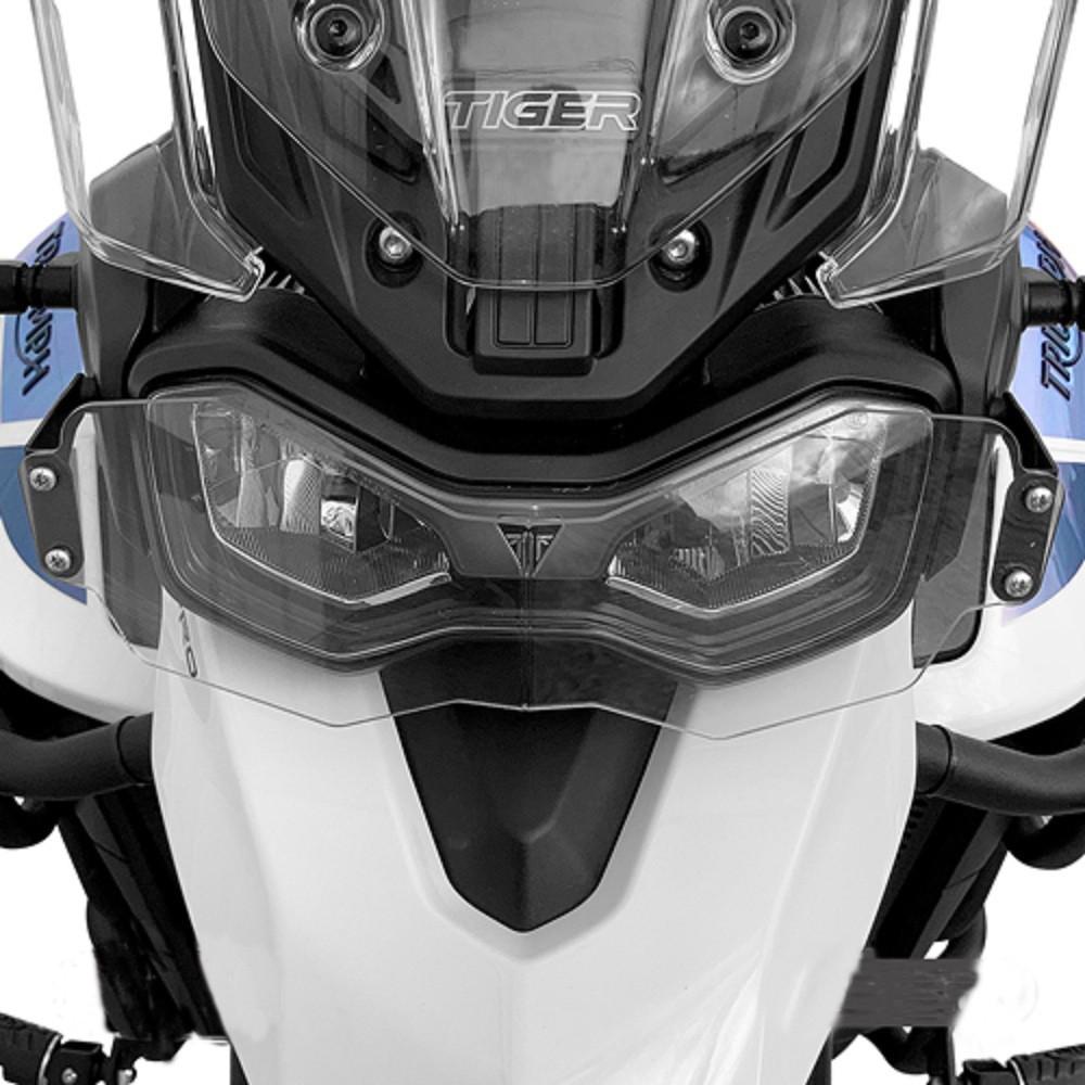 Protetor De Farol Policarbonato P/ Tiger 900 GT / GT PRO / Rally / Rally PRO Scam SPTO518