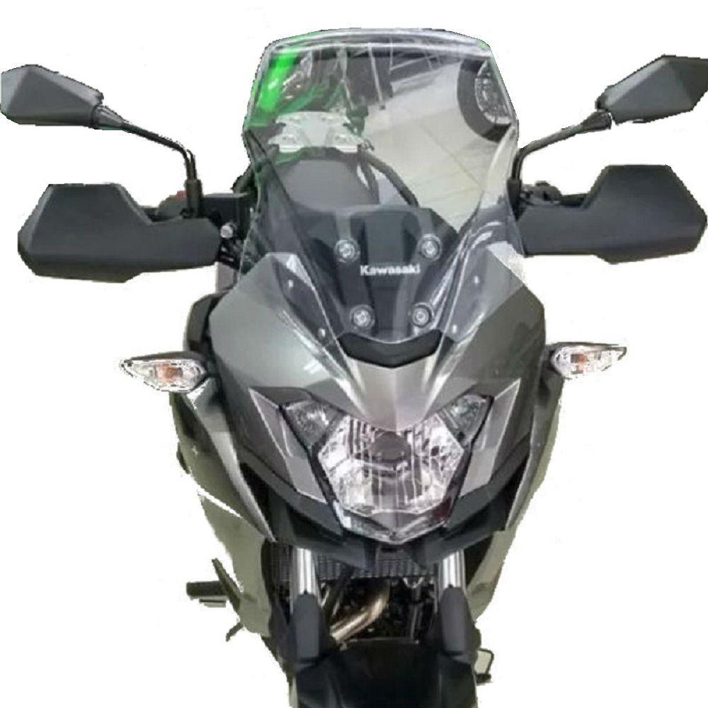Protetor De Manoplas Mão Kawasaki Versys X 300 Start Racing  S284