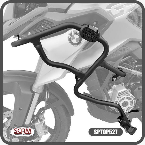 Protetor de Motor Carenagem BMW G 310 GS C/ Pedaleiras Scam SPTOP527