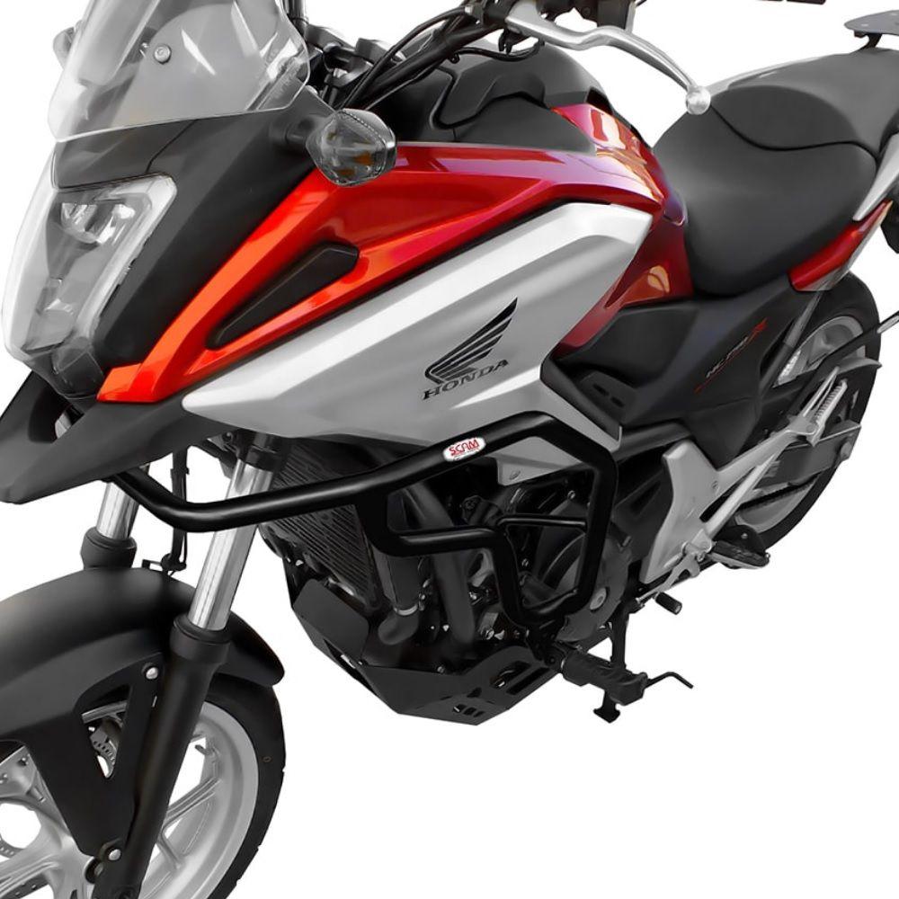 Protetor de Carenagem Motor NC 700 750 X Com Pedaleiras Scam 2013/2020 SPTOP061