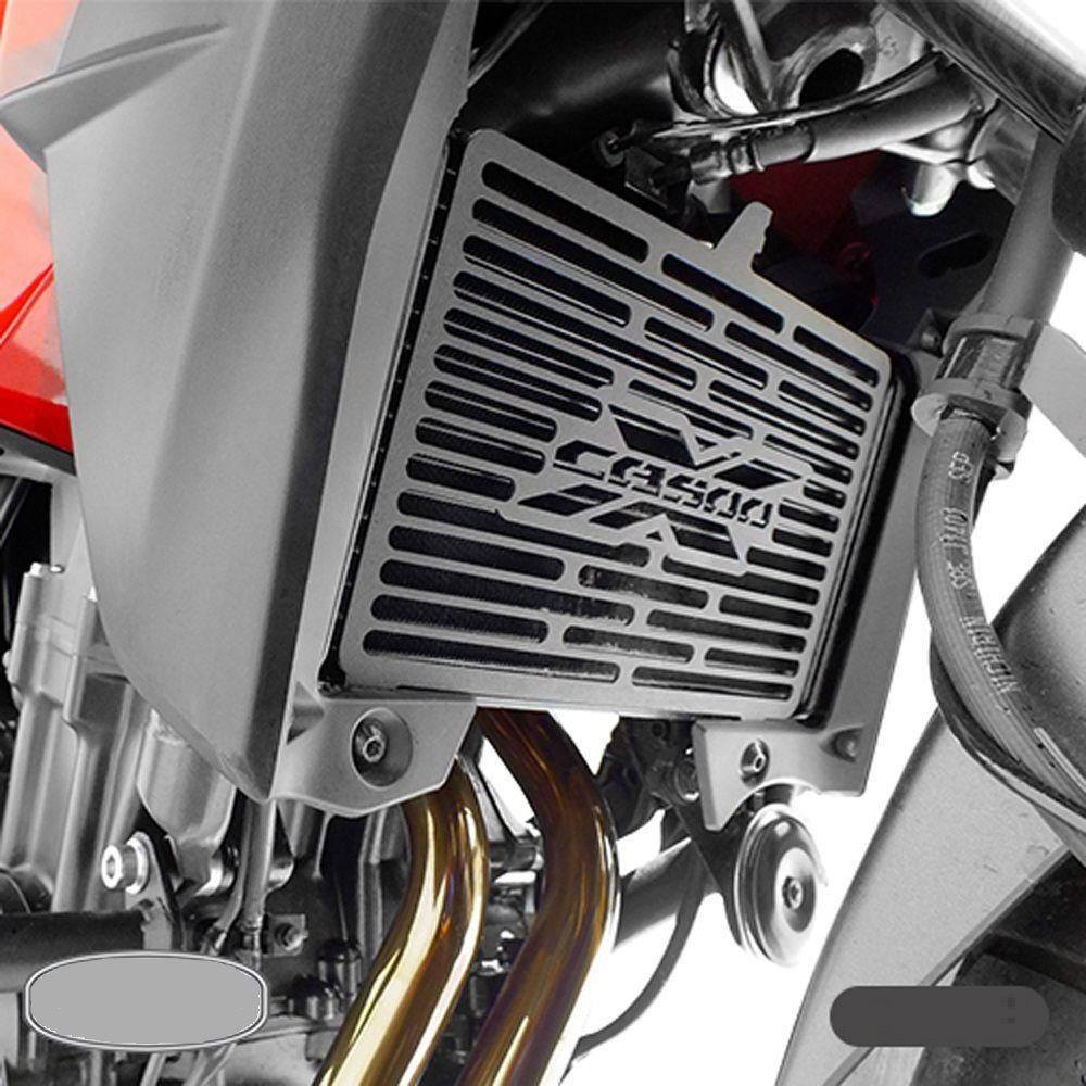 Protetor de Radiador Frontal CB 500 X 2013 Em diante Scam