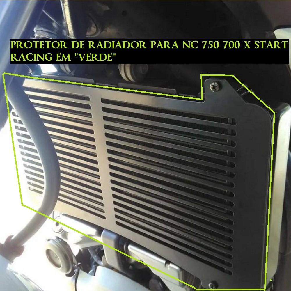 Protetor Do Radiador Nc 700 750 X 2012 2013 2014 2020 +  s124